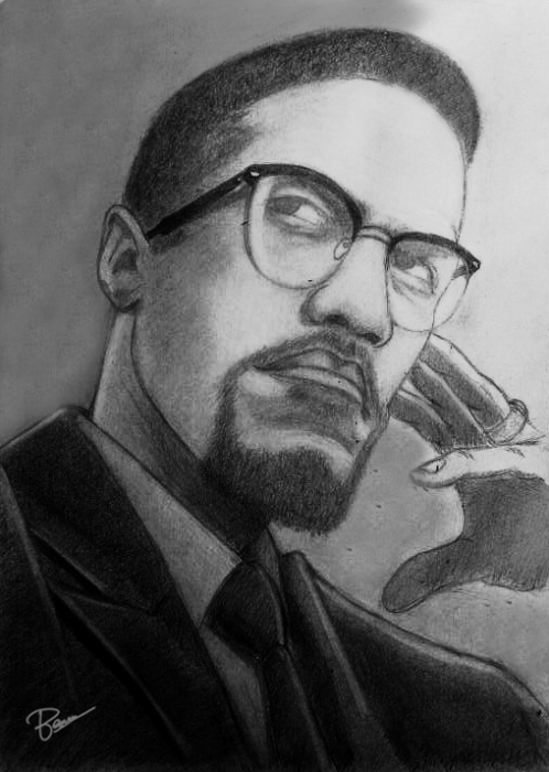 Malcolm X by beamskee
